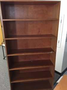 Picture of a bookshelf
