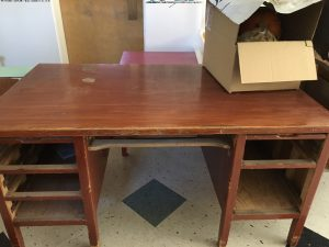 Picture of a desk