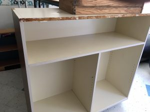 Picture of a book case