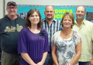 Photo of school board members